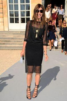Carine Roitfeld Pantsuit - Carine Roitfeld Looks - StyleBistro