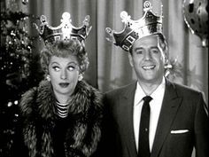 The King and Queen of Television!    Lucille Ball and Desi Arnaz