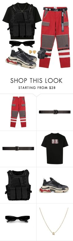 """""""Untitled #468"""" by youraveragestyle ❤ liked on Polyvore featuring 5.11 Tactical, Alexander Wang, Balenciaga, Acne Studios, Yves Saint Laurent, Links of London, men's fashion and menswear"""