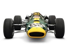 Lotus 38 - 1965: I'm thinking Indy since it's a left turn only setup with an offset like that.