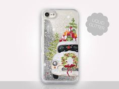 Christmas Glitter iPhone 8 Case For iPhone 8 iPhone 8 Plus