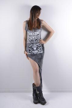 SEXY WOMAN ROCK DRESS