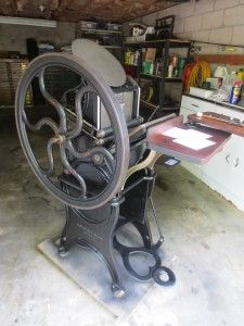 Golding Pearl No. Printing Press, Letterpress, Perennials, Restoration, Pearls, Retro, Addiction, Prints, Shop