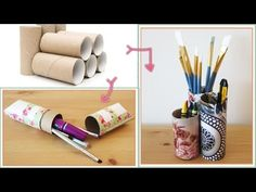 5 Toilet Paper Roll Crafts | DIY Toilet Paper Tube Craft Ideas & Hacks - YouTube