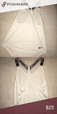 Nike shirt Brand new Nike shirt, I accidentally got the wrong size & lost the receipt ! nike Tops Tank Tops