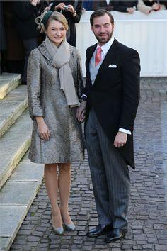 Guillermo de Luxemburgo y Stephanie de Lannoy