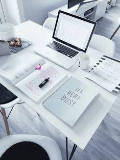 Super desk organization tips student study notes ideas
