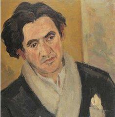 Louis Guilloux (15 januari 1899 – 14 oktober 1980) - Portret door Eugène Dabit, 1935 (Detail)