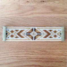 Jewelry Zilli, Bracelet tissé en perles de Rocaille, fermoir aimanté 04 : Bracelet par boutique-zilli