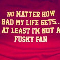 http://cougshirts.com/t-shirt-designs/huck-the-fuskies-t-shirt #HucktheFuskies #GoCougs #WSU