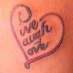 Live Laugh Love Tattoos - tattoos-and-art.com