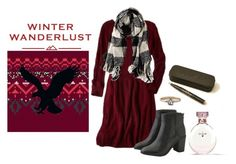 """Winter Wanderlust with American Eagle: Contest Entry"" by grace-buerklin ❤ liked on Polyvore featuring American Eagle Outfitters, Aerie and aeostyle"