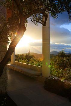 The latest Aman resort - Amanzo'e in Greece.