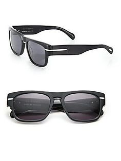 cbffbcb033 Public School 5mm Square Sunglasses - Black Public School