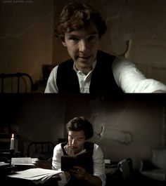 Benedict Cumberbatch-  This man kills me! I love him so much!
