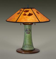 AFFINITY Ephraim Pottery Lamp , William Morris Studio, Mission Lighting