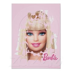 Barbie and her accessories posters from Zazzle.com