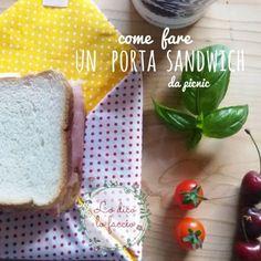 Sacchetto per il sandwich double-face, tutorial | Lo Dico, lo Faccio http://www.lodicolofaccio.it/2016/06/cucire-sacchetto-per-il-sandwich-double-face-tutorial.html