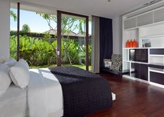 Spectacular Tropical Villa with Floor-to-Ceiling Glass WindowsDesignRulz1 December 2012The ultra avant-garde property known asVilla Issiis a secret oasis in the heart of Seminyak's fashionable 'Golden Tri... Architecture Check more at http://rusticnordic.com/spectacular-tropical-villa-with-floor-to-ceiling-glass-windows/