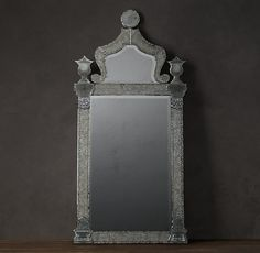 19th C. Baroque Ravenna Etched Mirrors From Restoration Hardware- for the Master Bedroom