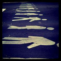 Crosswalk in Mississauga, Ontario
