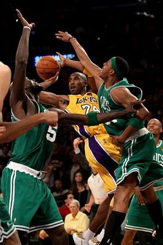 Kobe VS Celtics Big3
