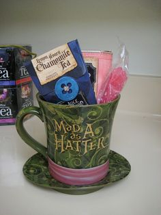 Mad as a Hatter Teacup