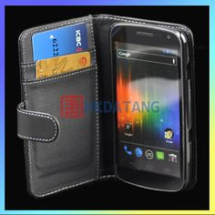 New Black Wallet Leather Case Cover For Samsung Google Galaxy Nexus Prime i9250 | eBay