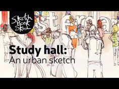 Study Hall: Koosje's Urban Sketch Homework - Sketchbook Skool Blog