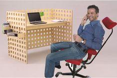 stehen, sitzen  oder liegen dieser Bausatz ist so individuell wie du selbst. Nimm die einzelnen Teile und baue sie so zusammen wie es dir gefällt. Ohne komplizierte Bauanleitungen und Schraubenwirrwar. Funktionales Design das weiter denkt. Dieser Bausatz wird in unserer Tischlerei in Ausserbraz Vorarlberg Österreich gefertigt. Die Möglichkeit Korpusse, Ablagen, Haken und vieles mehr (alles separat erhältlich) durch einfaches einhängen praktisch gestallten. Office Kit, Planer, Desk, Furniture, Home Decor, Carpentry, Pool Chairs, Desktop, Decoration Home