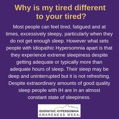 Wix Pro Gallery Idiopathic Hypersomnia, Ih, Feel Tired, Chronic Illness, Spoons, Disorders, Sleep, Positivity, Facts