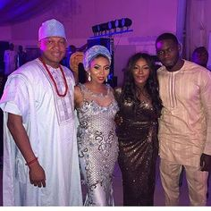 Tiwa Savage and Teebillz seen together at Stephanie Coker's wedding   It looks like Tiwa Savage and Teebillz have settled their differences (though not back together yet) as they posed for photos together withStephanie Coker and her husband.  On April 28 2017 Teebillz laid accusingallegations on Tiwa Savage on social media a move which led to the supposed end of their marriage.  READ:Shocking!! Tiwa Savage's Marriage Crashes As Husband Teebillz Makes Shocking Revelations  The next day Tiwa…
