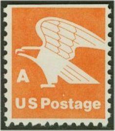1977 15c A and Eagle Scott 1736 Mint F/VF NH  www.saratogatrading.com