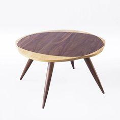 吱音 浮云茶几中式设计胡桃木腿矮桌咖啡桌榻榻米茶几客厅家具-淘宝网