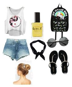 """Summer style"" by lucy-the-llama on Polyvore"
