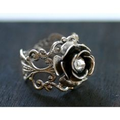 anique ring, created by ashleysumpter91 on Polyvore