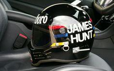 Vintage James Hunt Simpson F1 Race Helmet 1979 | eBay