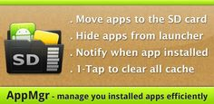 AppMgr Pro III APK 3.62 | Move Apps to SD - APK 4 Phone | Must-Have Android Apps | A4P