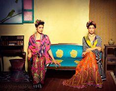Anupama Dayals Frida Kahlo lookbook, featuring Indrani Dasgupta
