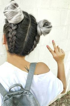 40 Cute Hairstyles for Teen Girls is part of Teen hairstyles - Getting bored of all those super boring hairstyles Then you seriously need some cute hairstyles for teen girls to flaunt off at school Cute Hairstyles For Teens, Teen Hairstyles, Long Haircuts, Hairstyles 2018, Trendy Haircuts, Plait Hairstyles, Formal Hairstyles, Hairstyle Photos, Latest Haircuts