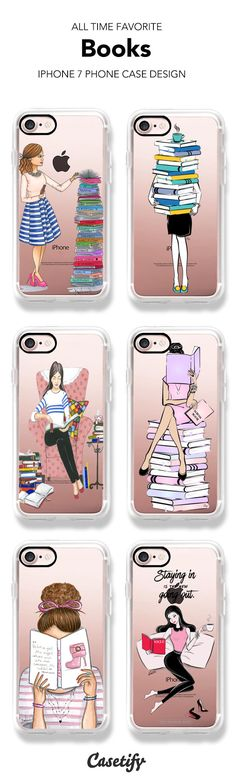 All Time Favorite Books iPhone 7 and iPhone 7 Plus case. Perfect for book lovers. Shop these phone cases here > https://www.casetify.com/artworks/jqwuZuBkrk