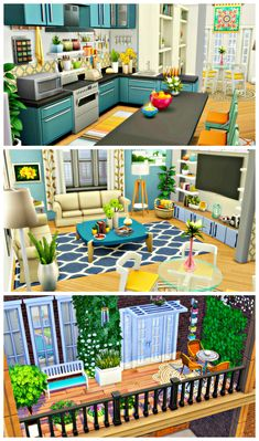 Sims 4 House Plans, Sims 4 House Building, Sims 4 House Design, Casas The Sims 4, Sims Four, Sims 4 Build, Sims 4 Houses, The Sims4, Sims 4 Custom Content