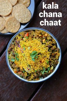 black chana chaat recipe, kala chana chaat, black chickpeas chaat with step by step photo/video. chaat recipe with black chickpeas & chaat ingredients. Samosa Chaat, Papdi Chaat, Chaat Masala, Chickpea Recipes, Vegetarian Recipes, Vegan Vegetarian, Chats Recipe, Recipes, Kitchens