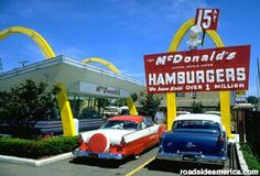 The first McDonald's Restaurant opened in Des Plaines, Illinois by McDonald's Corporation founder, Ray Kroc, on April 15, 1955.