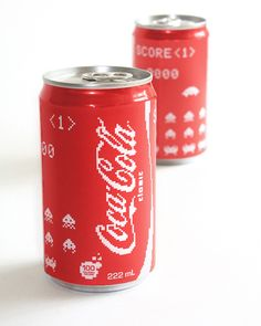 Coca Cola X Space Invaders