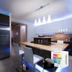 Steuern Sie LED-, RGB-, RGBW-Streifen, Halogenlampen und sogar Ventilatoren mit dem RGBW-Modul von Fibaro.