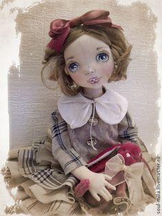 Ляля - коллекционная кукла,текстильная кукла,текстильная игрушка,интерьерная кукла