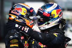 Max Verstappen Daniel Ricciardo Red Bull