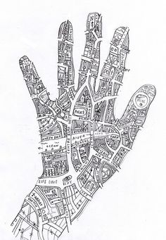 winterscrow:  Know your town (like the back of your hand) by johnefrench on Flickr.