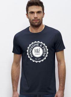 Ben - Herren T-Shirt mit Rundhals-Ausschnitt
